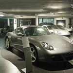 Showroom of Porsche Brazil