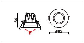DA-401C尺寸圖