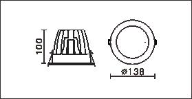 DG-126C尺寸圖