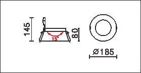 DL-805尺寸圖