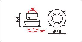 DW-881尺寸圖