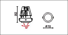 HA-770C尺寸圖
