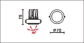 HD-77(MD-B001)尺寸圖