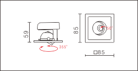 BA-001M尺寸图