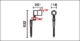 OFA-105P,OFA-105P-24V尺寸图