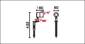 OFA-107P,OFA-107P-24V尺寸图