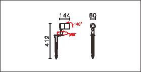 OFA-108P,OFA-108P-24V尺寸图