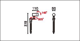 OFA-109P,OFA-109P-24V尺寸图